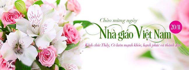 Tri ân thầy cô nhân ngày nhà giáo Việt Nam