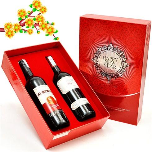 Hộp quà sảnh chảnh - Rượu vang cao cấp