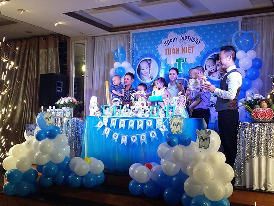 sinh nhật bé Tuấn Kiệt