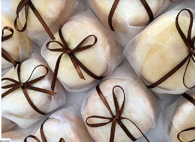 Tiệc cưới truyền thống tại Brazil với bánh Bem Casados