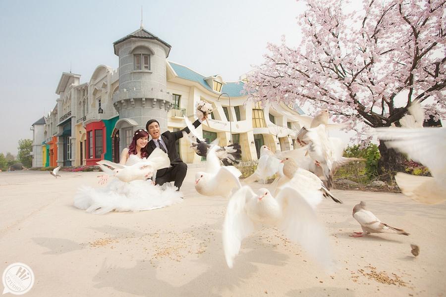 Địa điểm chụp ảnh cưới đẹp tại SMILEY VILLE