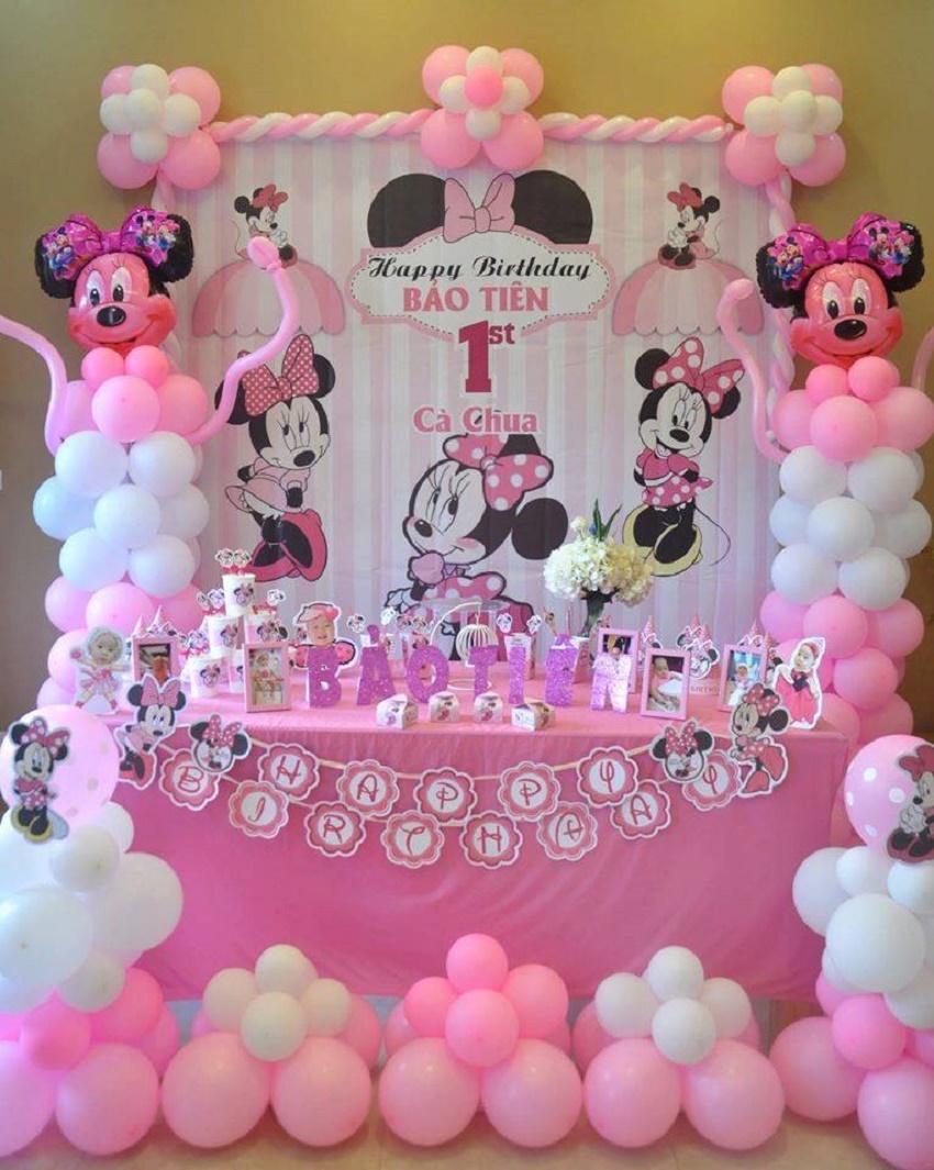 Cách trang trí tiệc sinh nhật đơn giản tại nhà