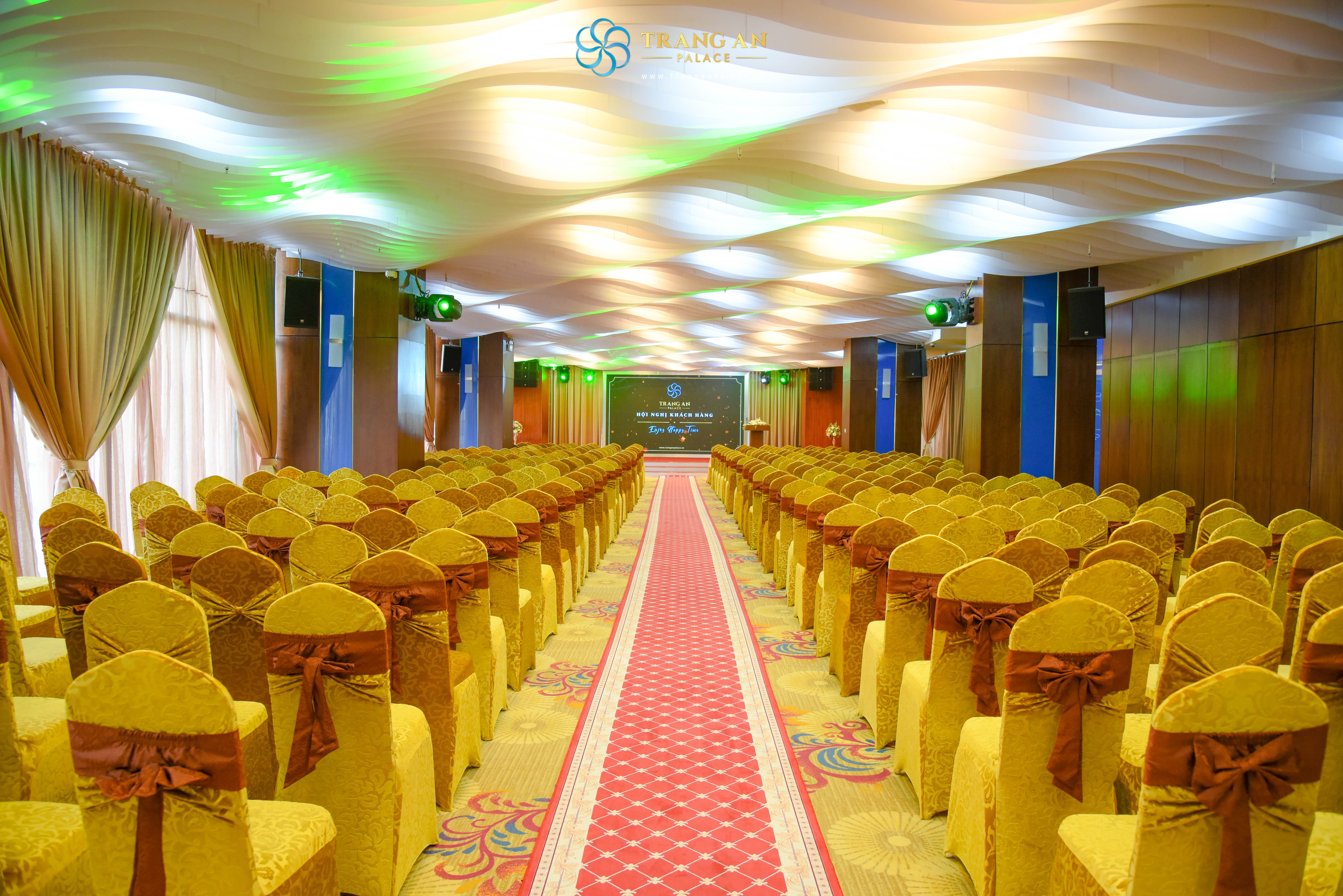 hội truòng tổ chức sự kiện