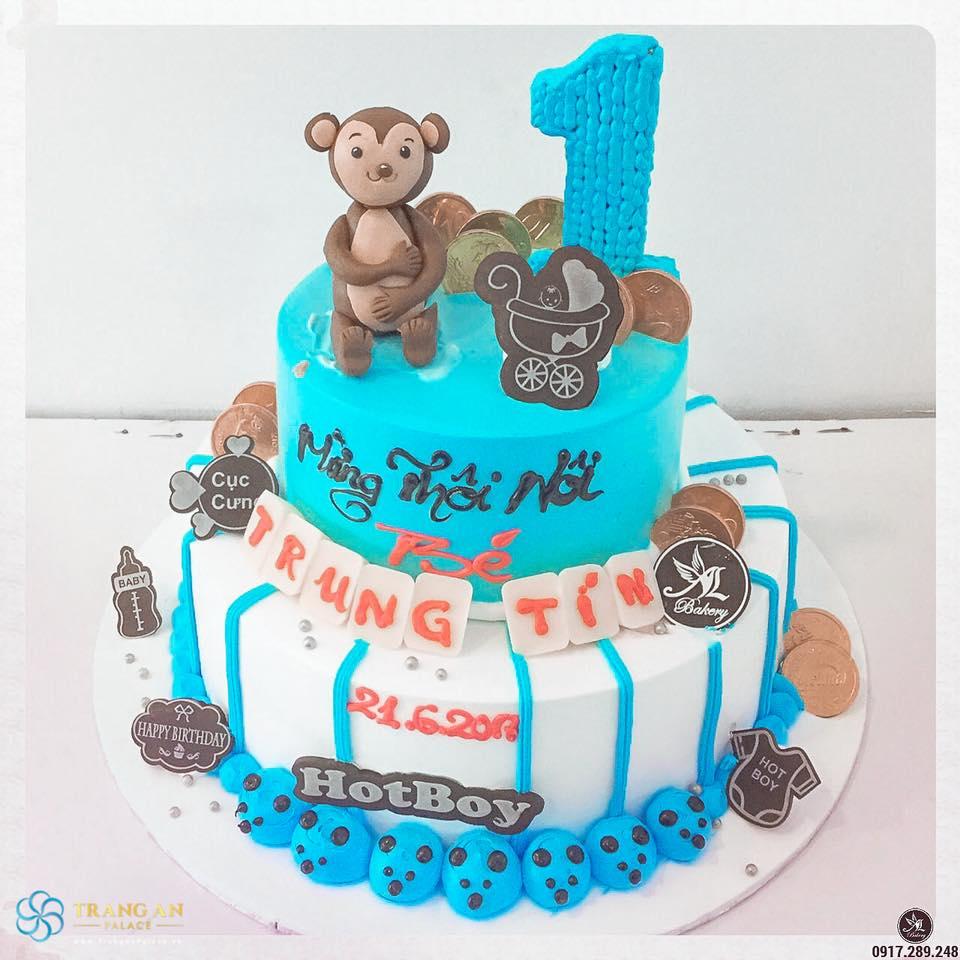 mẫu bánh cho công việc chuẩn bị tổ chức tiệc đầy tháng cho bé