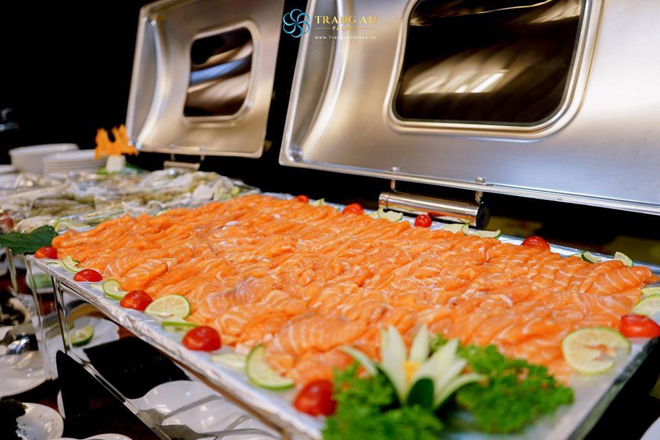 tiệc buffet sang trọng