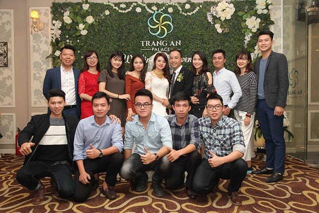 Trung tâm hội nghị tiệc cưới Tràng An palace với sảng ngoài sang trọng