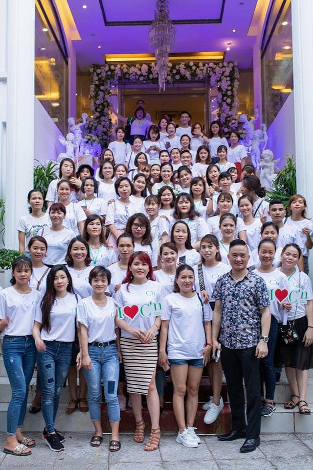Lễ đào tạo bán hàng của Hệ thống C'N tại trung tâm tổ chức sự kiện Tràng An Palace