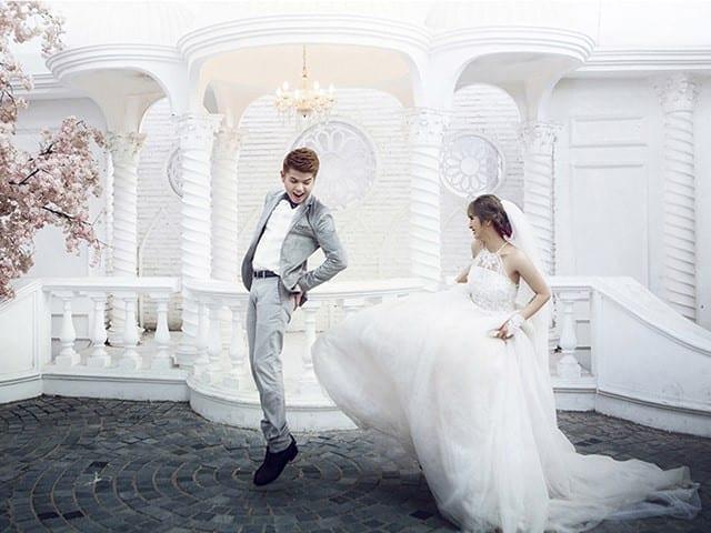 cô dâu và chú rể
