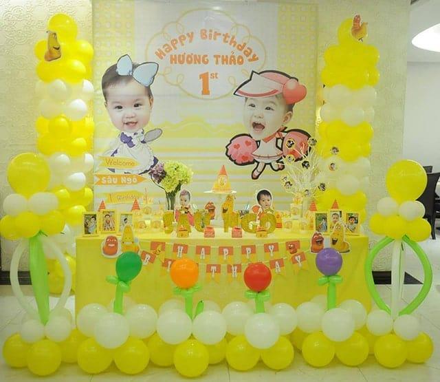 Dịch vụ tổ chức sinh nhật cho bé