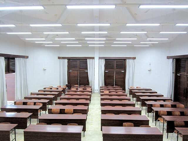 hệ thống ánh sáng khi thuê phòng đào tạo