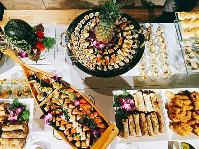 đặt tiệc buffet tại nhà ở hà nội