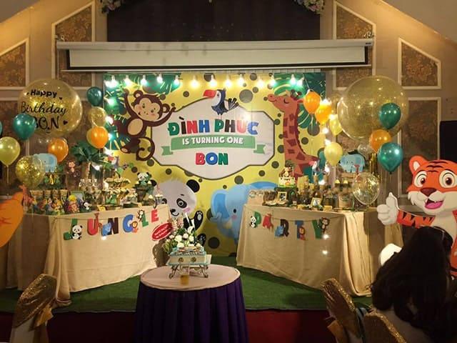 ý tưởng tổ chức sinh nhật