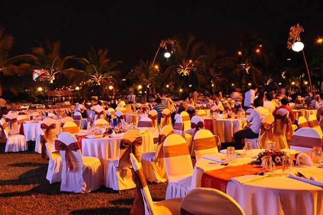 Không gian địa điểm là yếu tố quan tâm hàng đầu khi tổ chức tiệc cuối năm