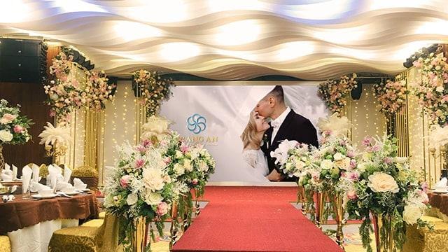 địa điểm tổ chức tiệc cưới tại Hà Nội