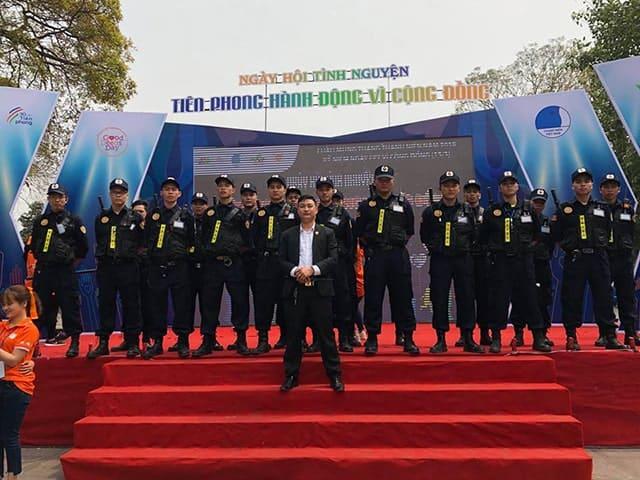 Lực lượng an ninh đông đảo cho các sự kiện lớn