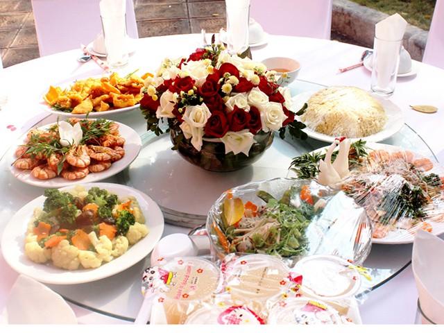 thực đơn tiệc cưới chuẩn phong tục miền bắc