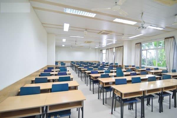 cho thuê phòng đào tạo set up kiểu lớp học